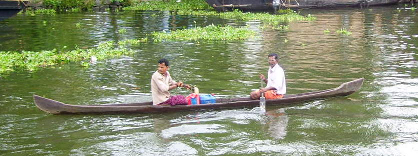 Private Vehicle in Backwaters