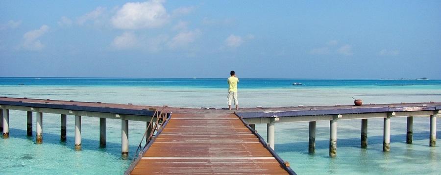 Stunning views from Medhufushi Island Resort