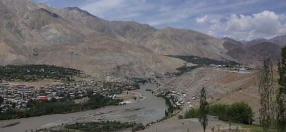 Views of Kargil from Hilltop
