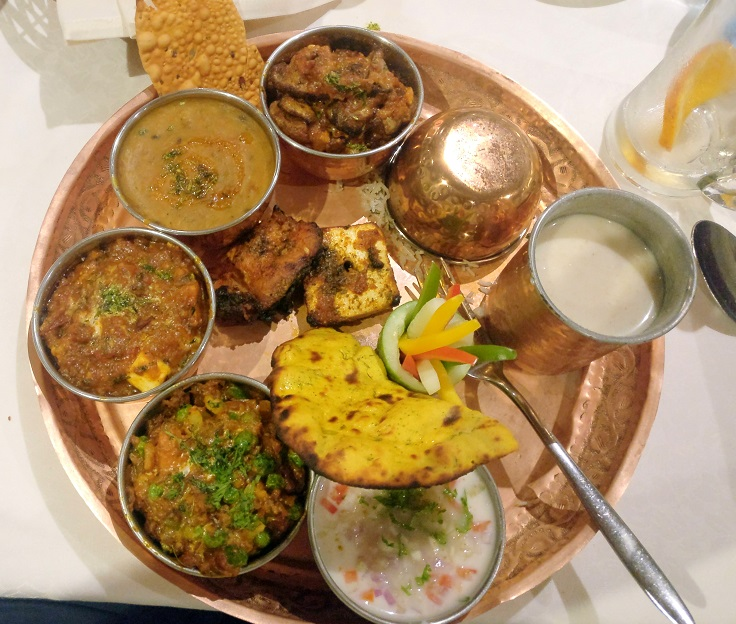 Lucknow Thali